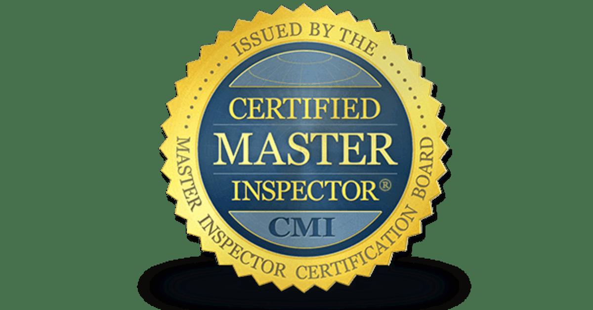 Barrie Home Inspector - Certified Master Inspector